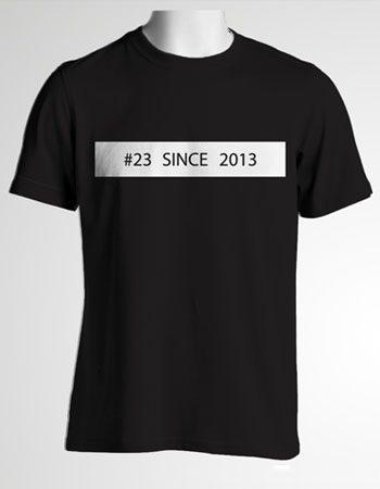Mẫu áo thun đặt riêng cho lớp 12A23 trường THPT Hùng Vương năm 2015