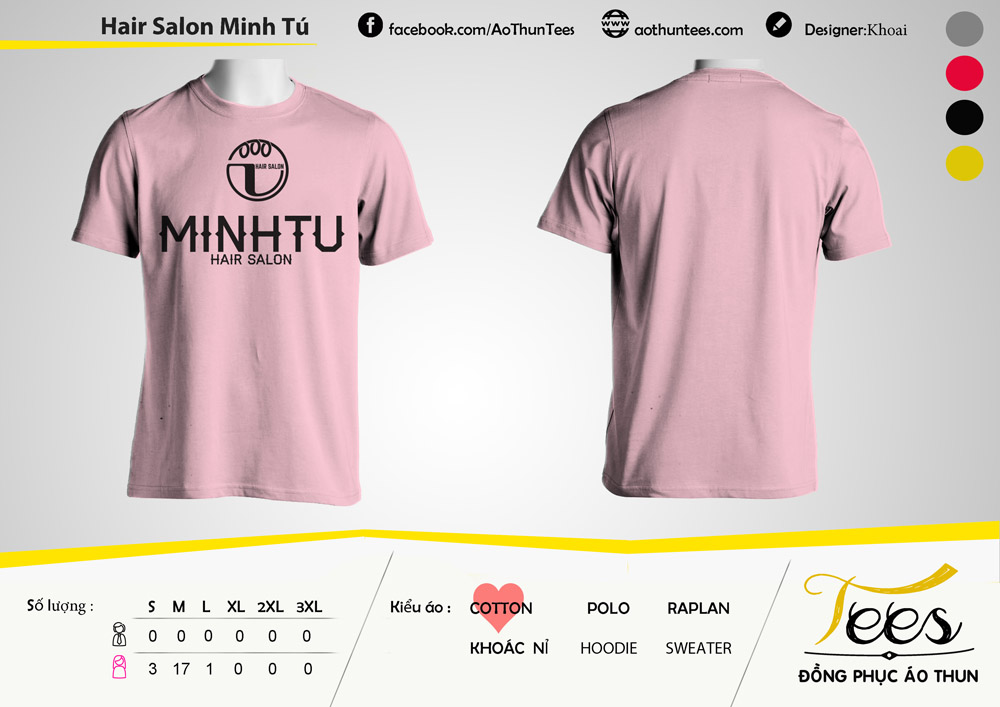 Ao thun Hair Salon Minh Tu