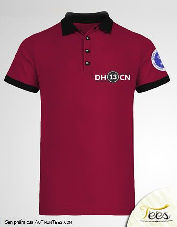 Mẫu áo thun lớp DH13CN trường Đại học Công Nghiệp