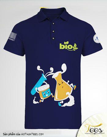 Mẫu áo thun của các bạn khoa Công nghệ sinh học trường Đại học Mở Tp. Hồ Chí Minh