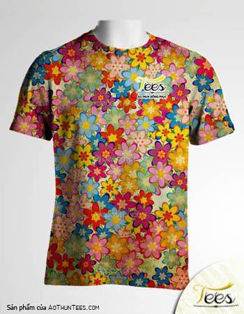 Floral T-shirt 04a