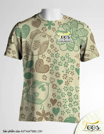 Floral T-shirt 09a