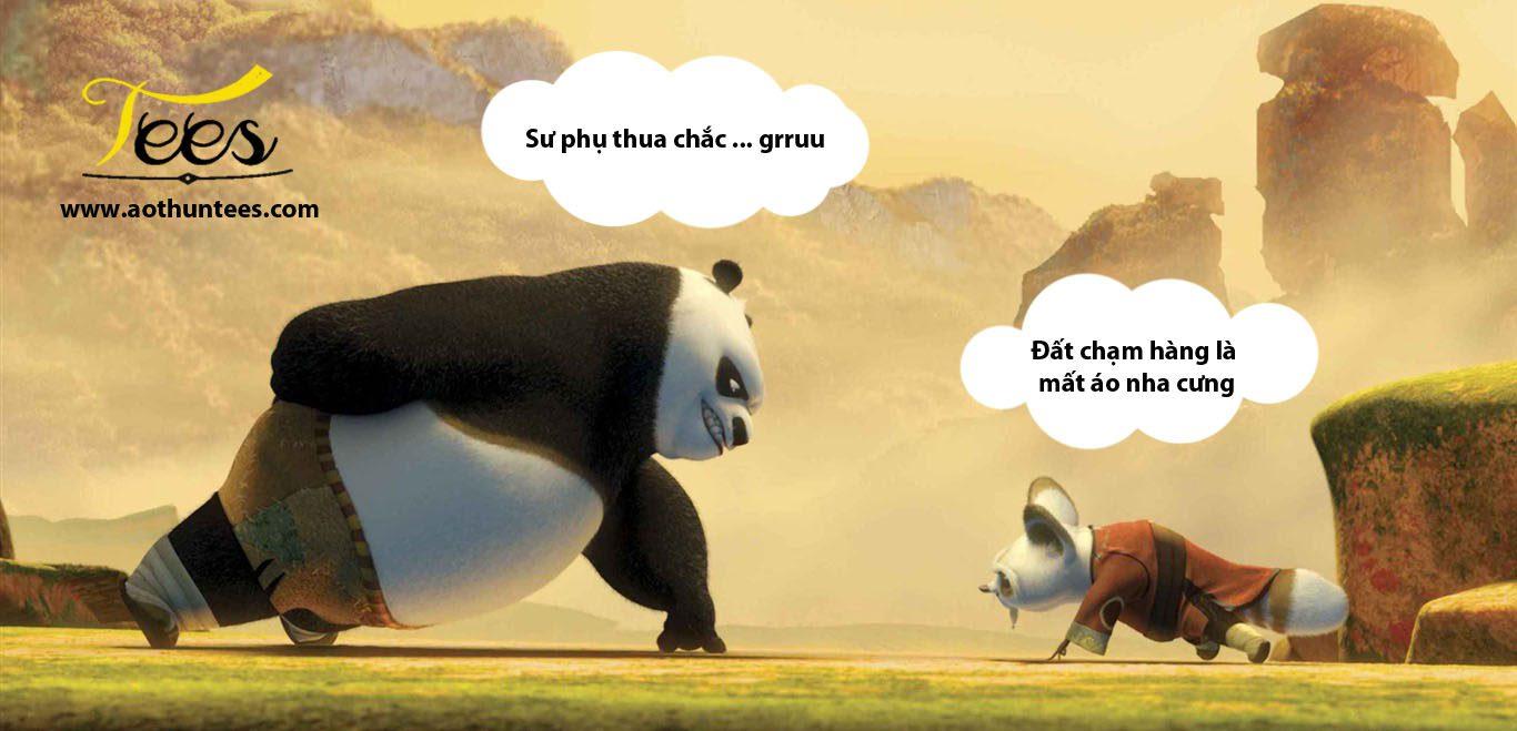 Bộ sưu tập áo thun KungFu Panda