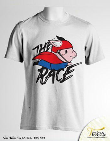 Áo thun đồng phục The Pig Race