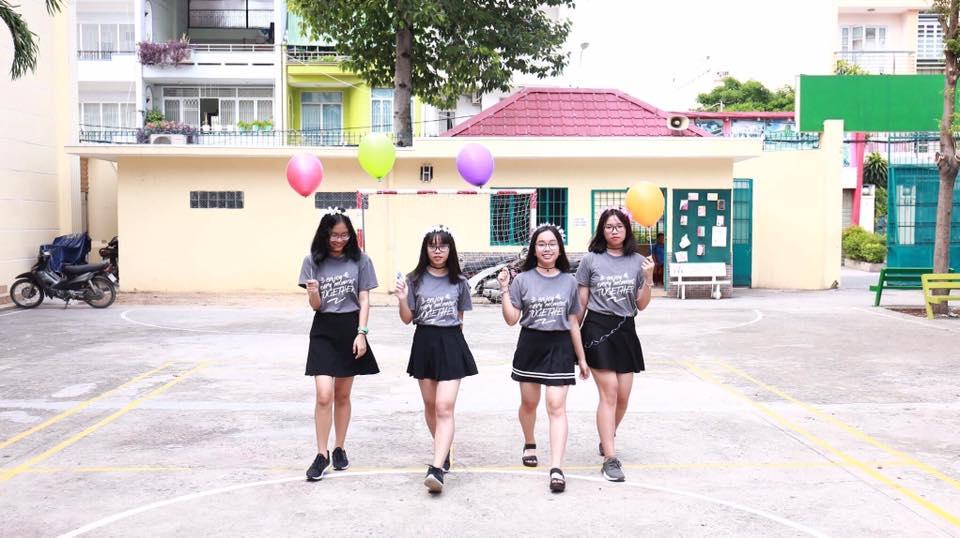 Áo lớp 9A1 – Trường THCS-THPT Ngôi Sao – Bình Tân