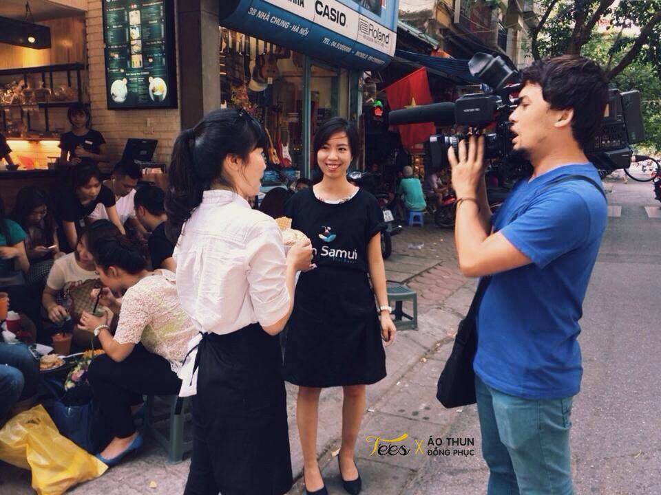 Áo thun đồng phục quán Thái Koh Samui Hut
