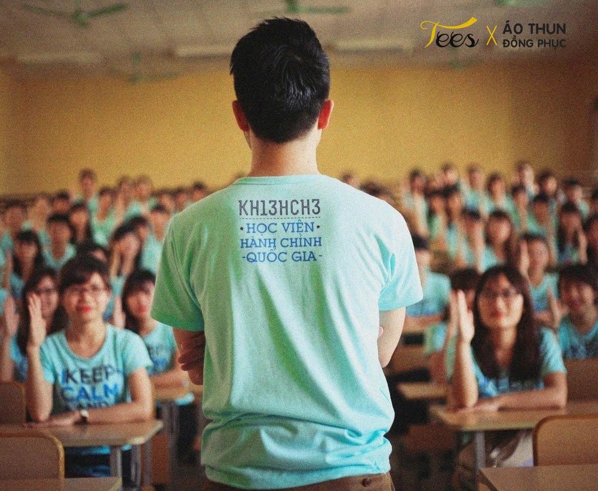 Áo thun lớp KH13HCH3 – Học viện Hành chính Quốc gia