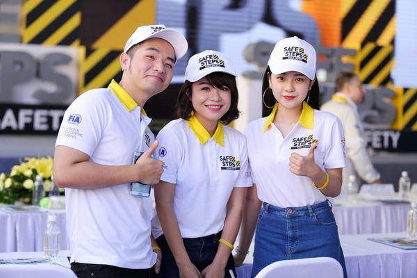 Ao thun Safe steps Road Safety 11 - Áo thun sự kiện Safe Steps của Liên Hợp Quốc tại Việt Nam