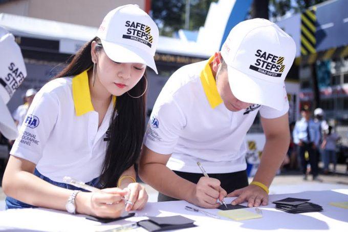 Áo thun sự kiện Safe Steps của Liên Hợp Quốc tại Việt Nam