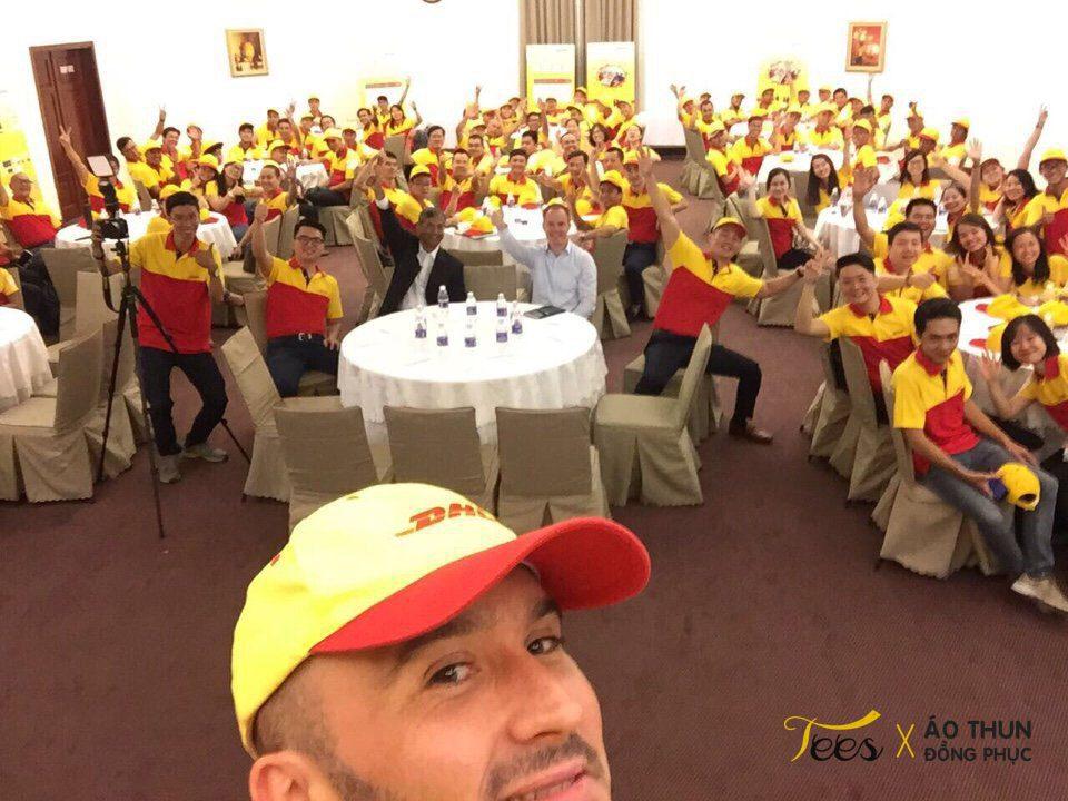 dhl tshirt 9 - Áo thun đồng phục công ty chuyển phát nhanh DHL Việt Nam
