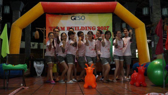 Áo thun team building – Công ty Geso
