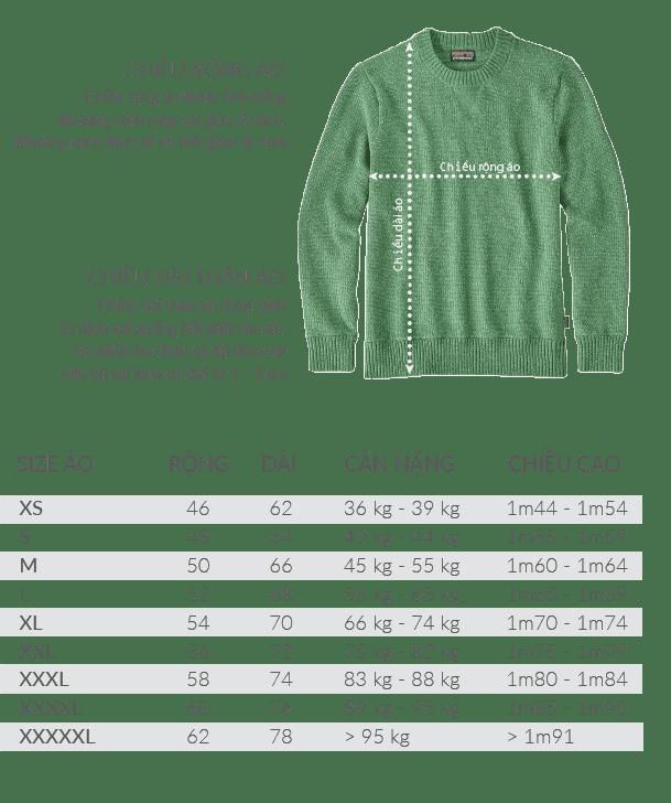 size ao sweater - Giới thiệu sản phẩm áo thun Hoodie - Sweater đồng phục