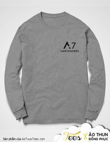A7 Long Xuyen 2 - Áo sweater đồng phục lớp 12A7 trường THPT Long Xuyên