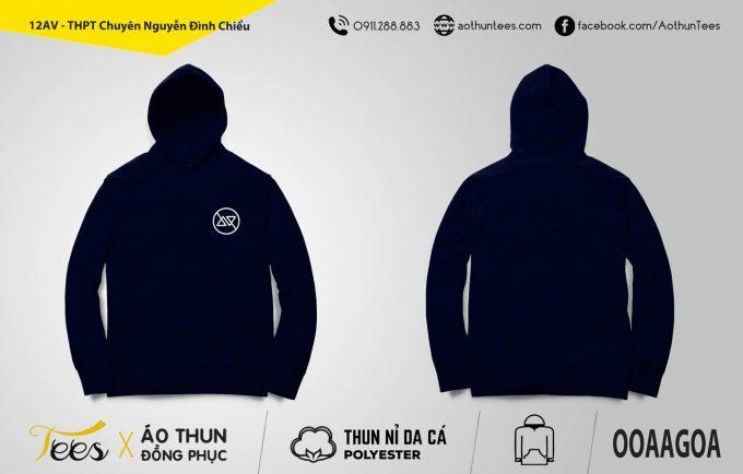 12AV THPT Chuyen Nguyen Dinh Chieu My Hang 680x434 - Áo hoodie đồng phục lớp 12AV - THPT Chuyên Nguyễn Đình Chiểu