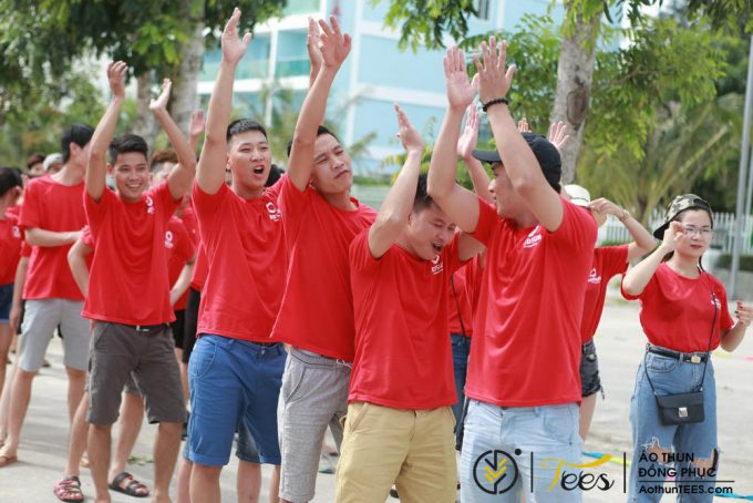 Áo thun cổ tròn Team Building – Redsun ITI 2017 – Hải Tiến
