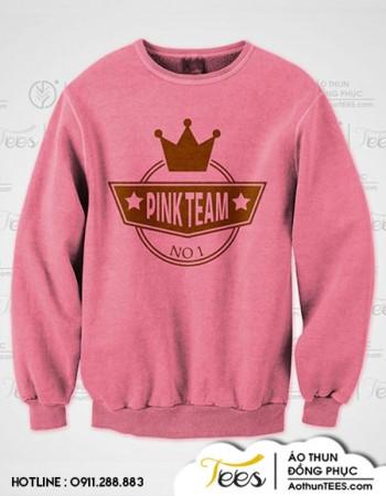 pinkteam zproduct sample 350x450 - Áo sweater nhóm bạn #TeamPinkHappy