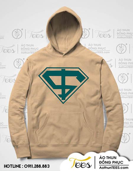 Ao khoac Hoc vien tai chinh 05.2. Hoodie2 - Áo hoodie siêu nhân trường Học viện tài chính AOF