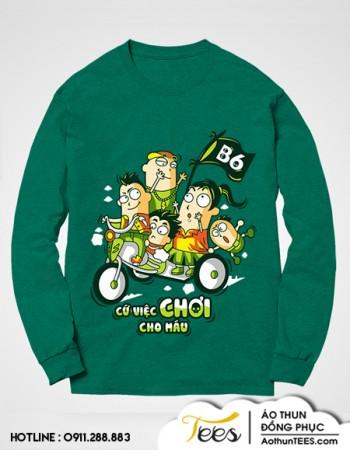 12B6 THPT Nguyen An Ninh2 350x450 - Áo sweater lớp 12B6 - THPT Nguyễn An Ninh