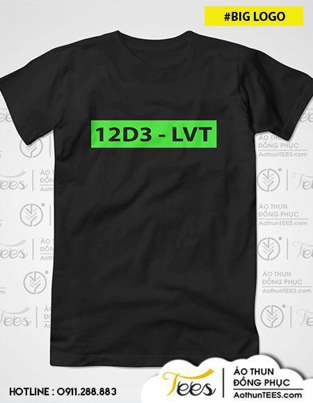 12d3 thpt luong the vinh 01. Ao co tron v32 1 - Áo thun lớp 12D3 - THPT Lương Thế Vinh - #BIGLOGO