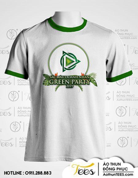 """Green Party 2 - Áo thun chương trình """"Sắc màu doanh nhân - Green Party"""""""