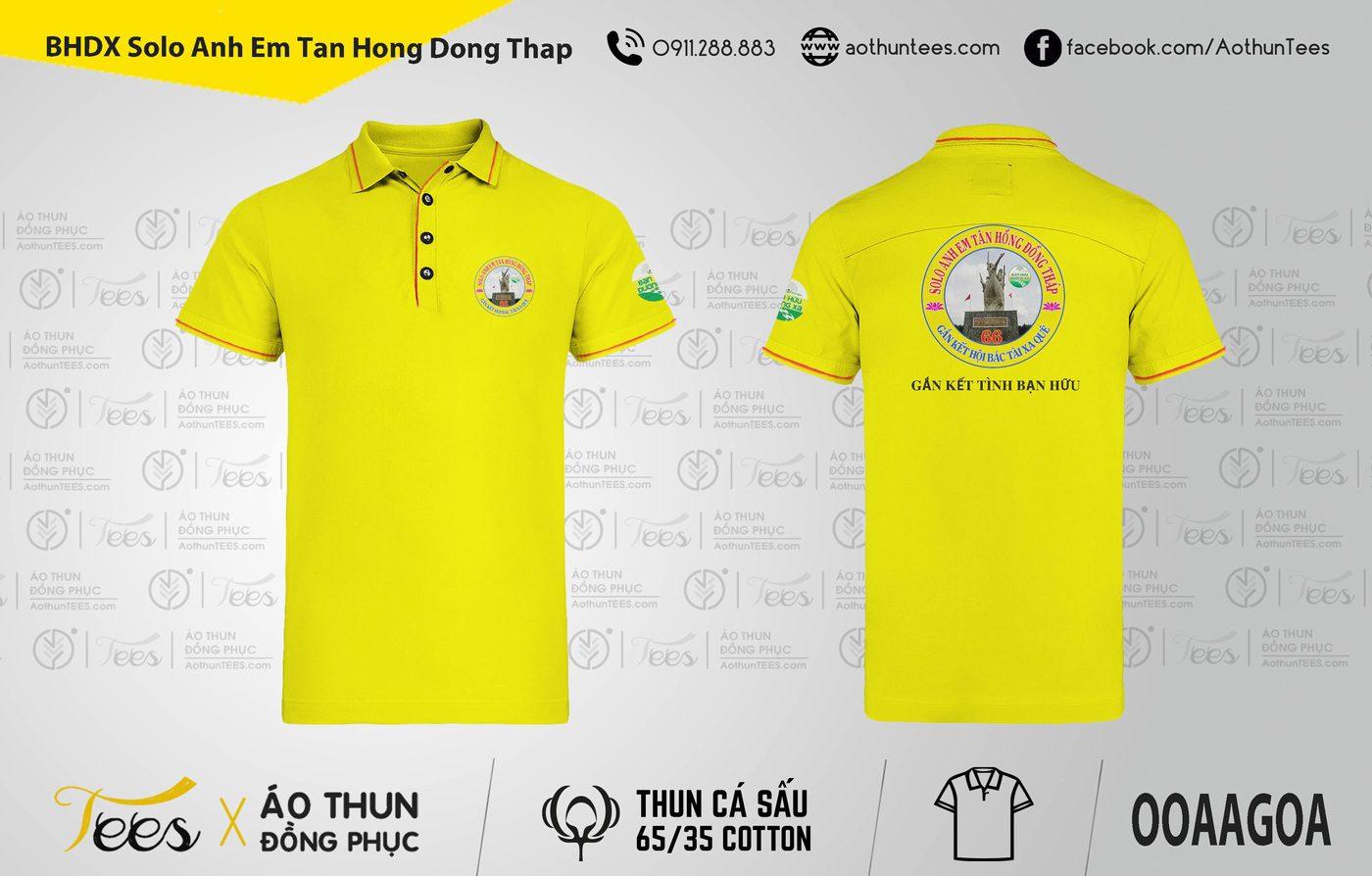 063. BHDX Solo Anh Em Tan Hong Dong Thap - Áo thun Bạn Hữu Đường Xa - Solo Anh em Tân Hồng Đồng Tháp