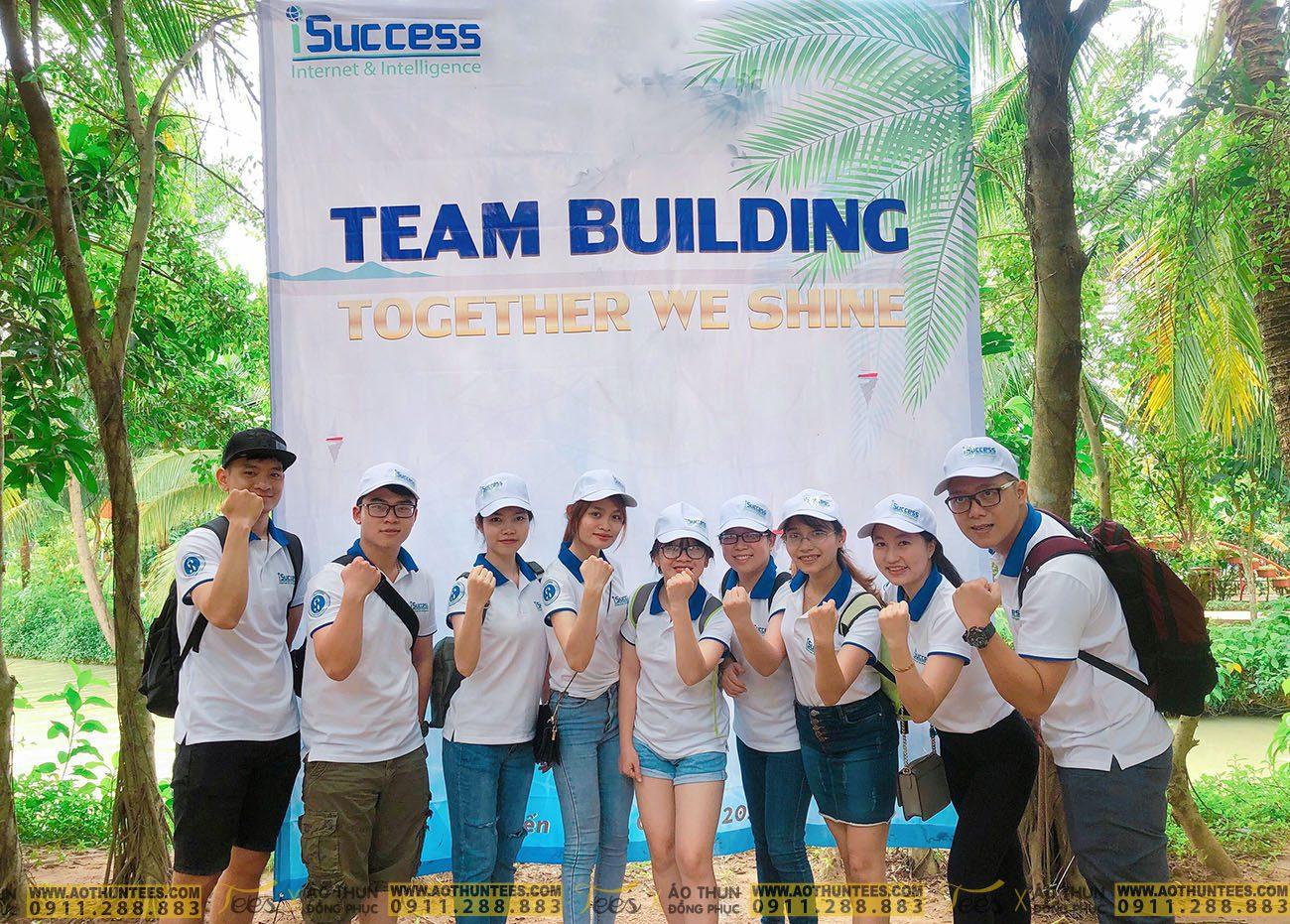 TNHH ISUCCESS 7529643e818564db3d94 - Công ty TNHH iSUCCESS tổ chức team building với mẫu áo thun đồng phục của TEES