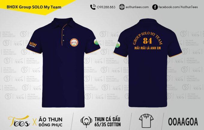 087. BHDX Group SOLO My Team 680x434 - Áo thun Bạn Hữu Đường Xa - Group Solo My Team
