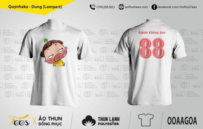 Quynhaka Dung Lampart 680x434 - Áo thun đồng phục Nhóm Quỳnh Aka
