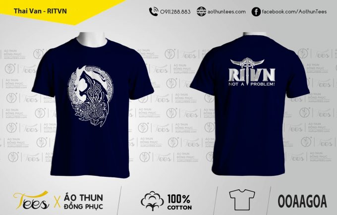Thai Van RITVN 680x434 - Áo thun đồng phục Công ty RITVN