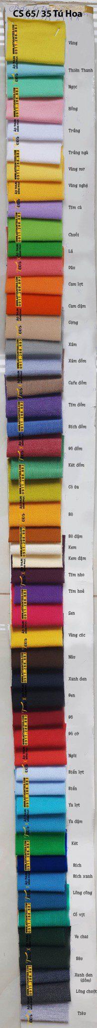 file thiet ke Tu Hoa - Bảng màu vải cá sấu 65/35 - 4 chiều (tốt)