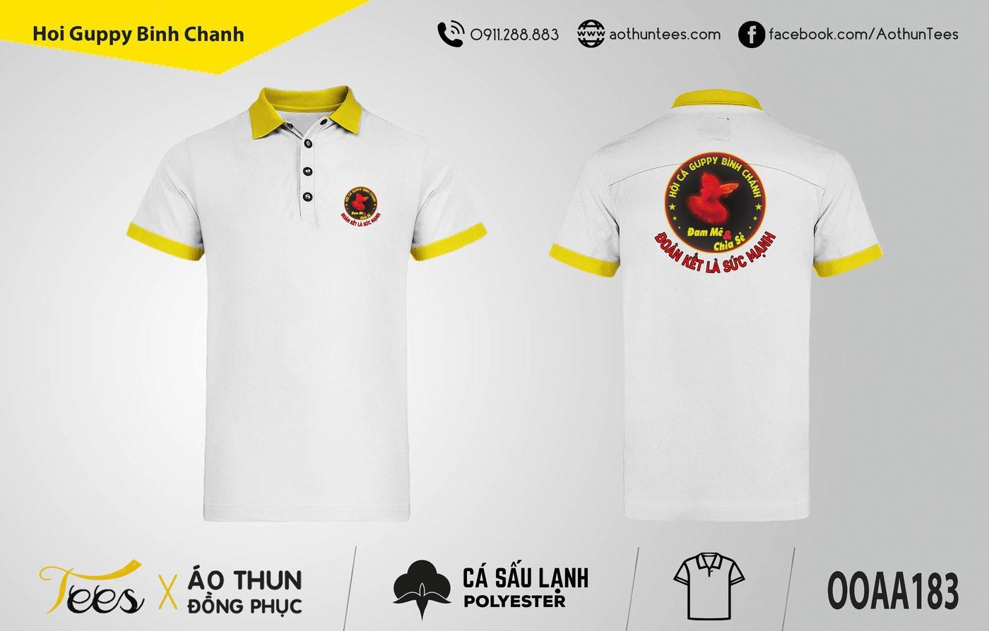 156. Hoi Guppy Binh Chanh - Áo thun đồng phục Hội cá Guppy Bình Chánh