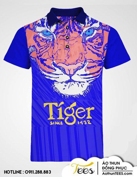 162. Tiger1 - Áo thun in hình con cọp bia Tiger