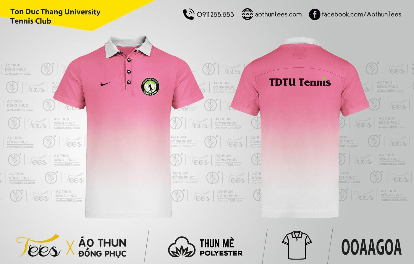 171. Tenis Club Ton Duc Thang - Áo thun đồng phục Ton Duc Thang University Tennis Club