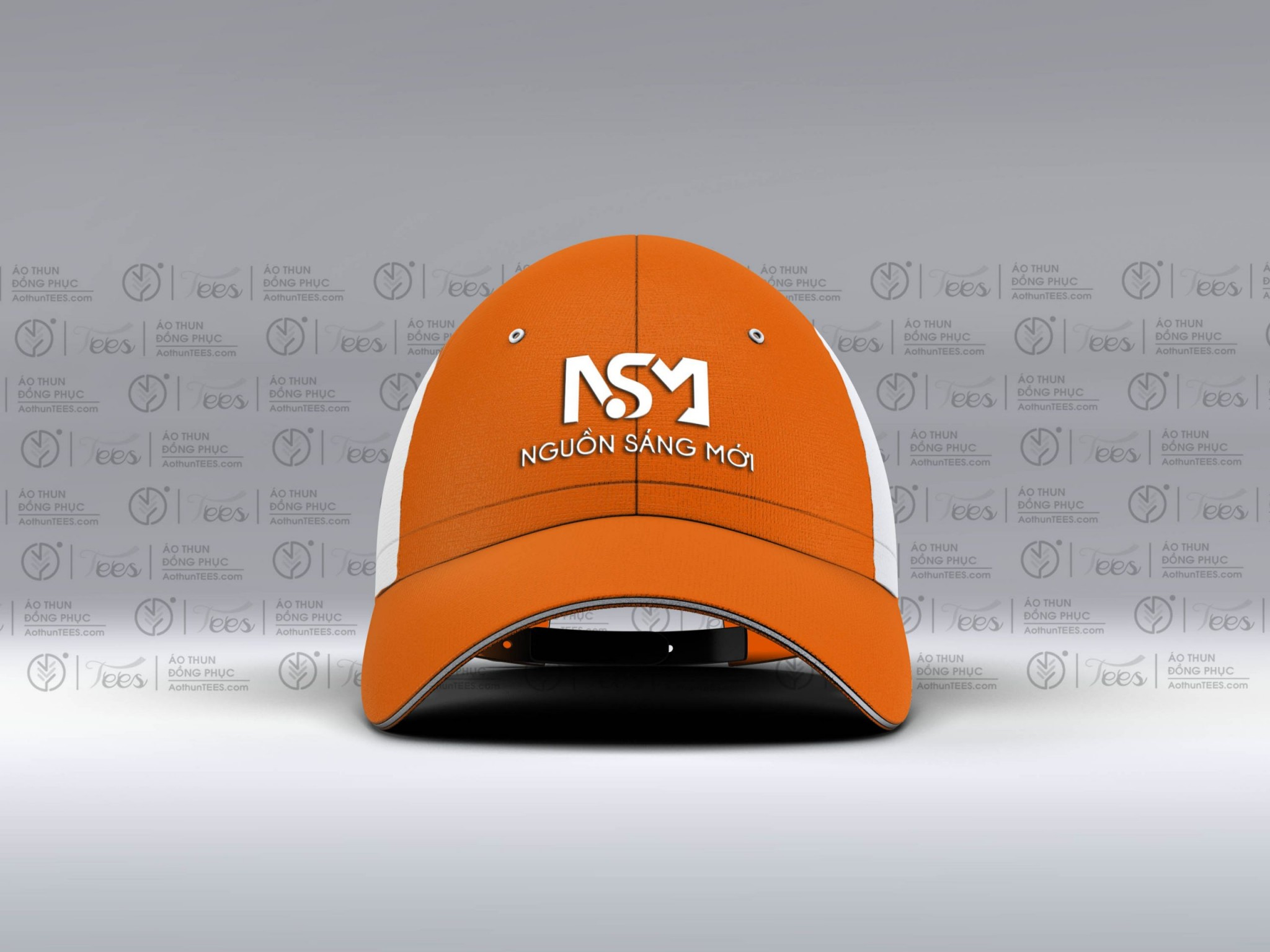Non dong phuc cty Nguon Sang Moi Snapback Baseball Cap 3 scaled - Áo thun đồng phục Công ty Nguồn sáng mới - Du học Nhật Bản