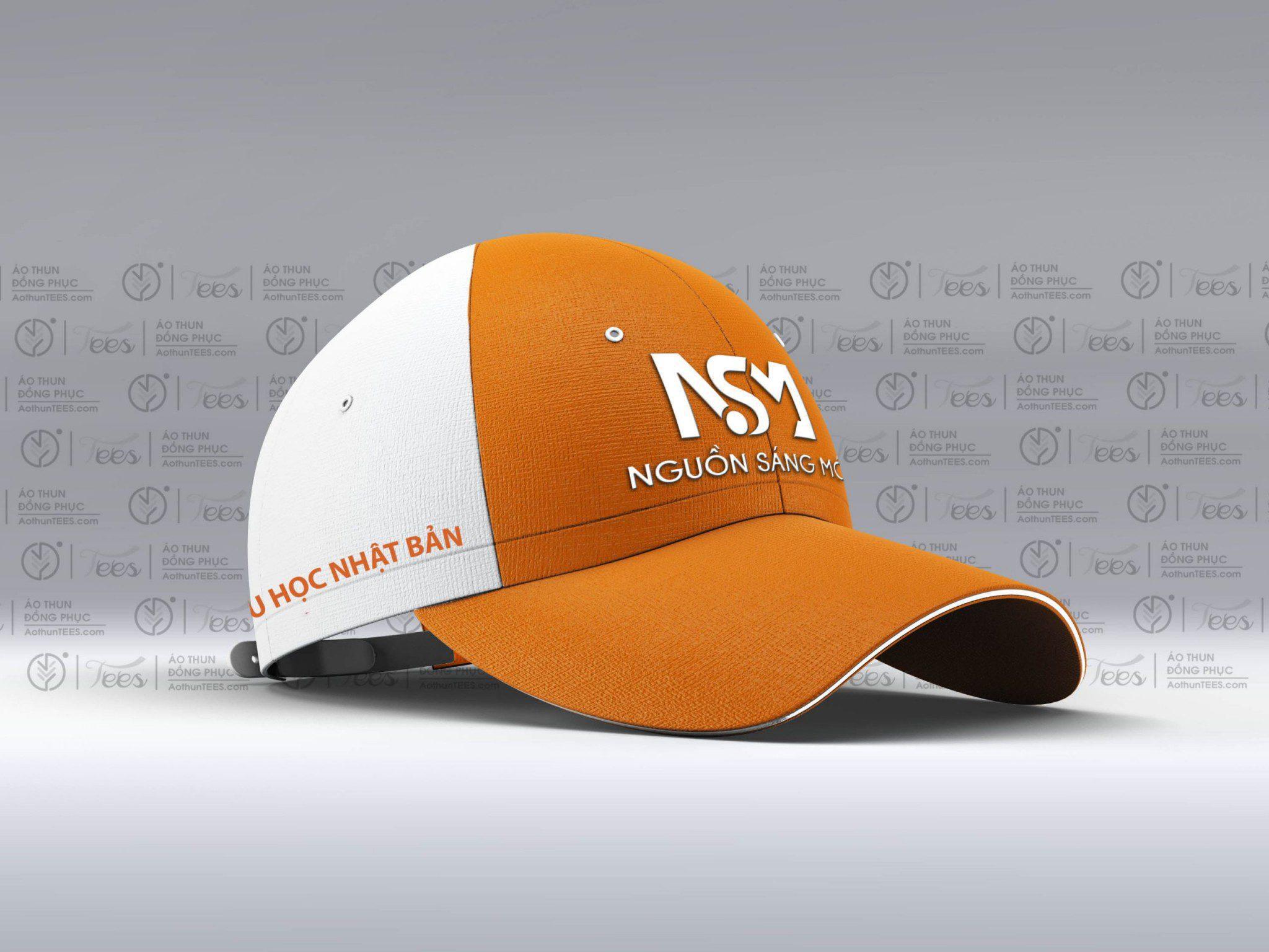 Non dong phuc cty Nguon Sang Moi Snapback Baseball Cap scaled - Áo thun đồng phục Công ty Nguồn sáng mới - Du học Nhật Bản