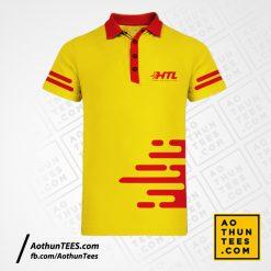 Áo thun đồng phục Công ty TNHH Giải Pháp Hậu Cần HTL – Mẫu Logo mới 2021